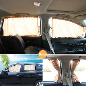 MAGNETIC CAR SIDE WINDOW SUNSHADE ( 2PCS - FRONT , BACK ) [ FREE SHIPPING ]