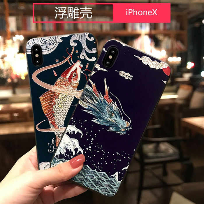 Anime Dragon Case for iPhone