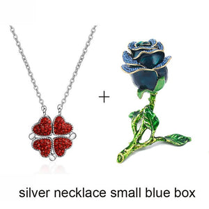 2-in-1 Necklace & Rose Box [ FREE SHIPPING ]