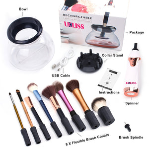 AUTOMATIC MAKEUP BRUSH CLEANER [ FREE SHIPPING ]