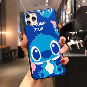 SUPER CUTE STITCH IPHONE CASE