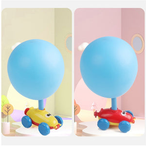 Balloon Powered Toy Car  [ FREE SHIPPING ]