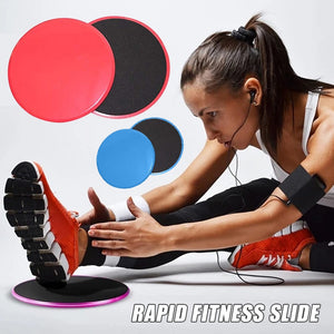 Multifunctional Sliding Fitness Disk (2pcs) [ FREE SHIPPING ]