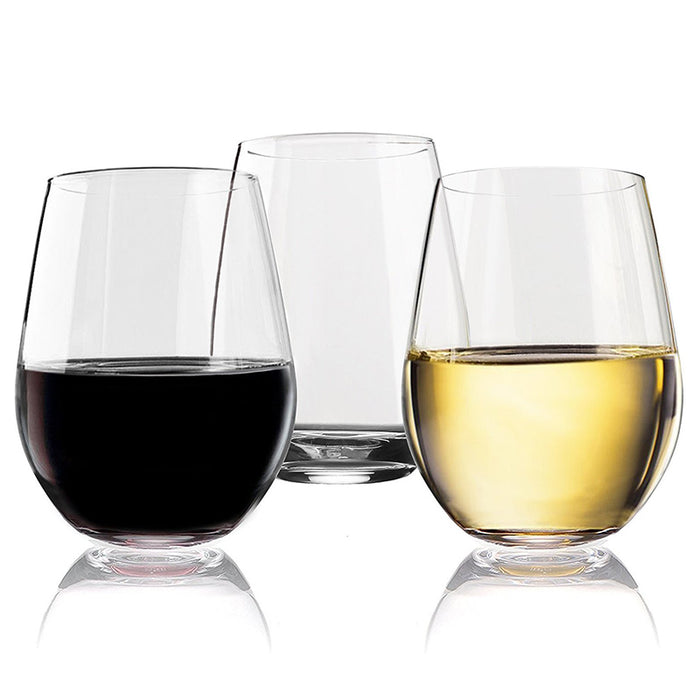 Unbreakable Stemmed Wine Glass (4PCS)  [ FREE SHIPPING ]