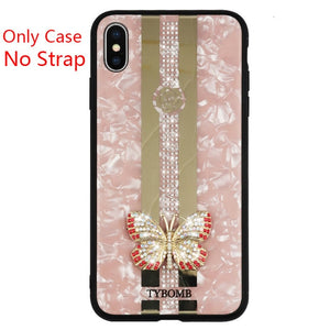3D Inlaid Butterfly Case for iPhone