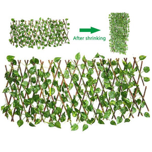 Green Leaf Plant Simulation Fence [ FREE SHIPPING ]