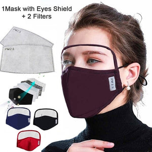 Cotton Mask with Eyes Shield [ FREE SHIPPING ]