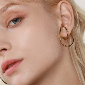 Irregular Hoop Ear Cuff