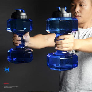 2.2 Litres Water Bottle Dumbbell [ FREE SHIPPING ]