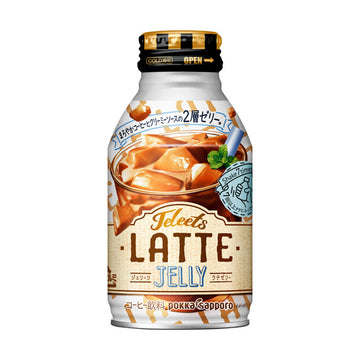 Pokka Jeleets Latte Jelly Drink - 275 ml