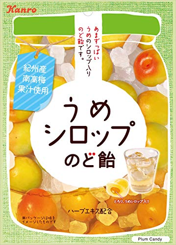 Kanro Plum Syrup Nodo Ame Cough Candy