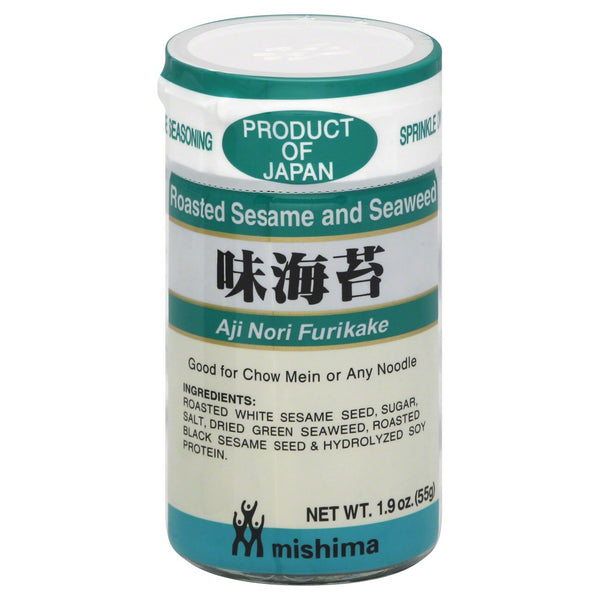 Mishima Roasted Sesame and Seaweed Seasoning - 55g/1.9oz