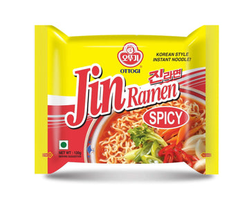 Ottogi Jin Ramen Spicy - Single