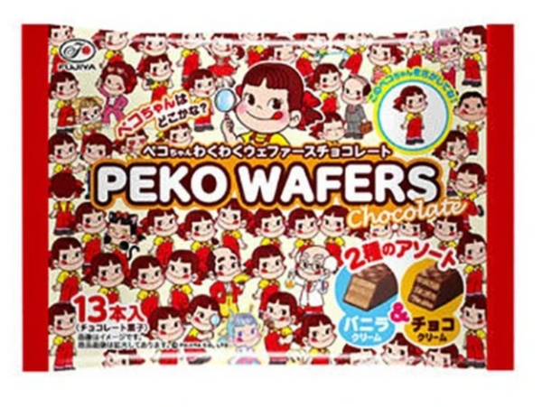 Fujiya Peko Wafers Chocolate