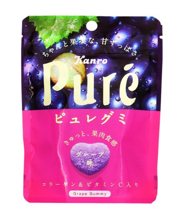 Kanro Pure Gummy Grape
