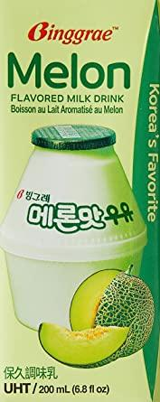 Binggrae Melon Flavored Milk