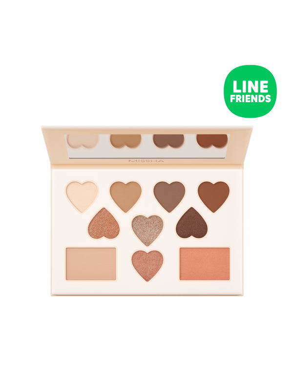 Missha Color Filter Shadow Palette No. 5 Shy Shy Brown (LINE FRIENDS Edition)