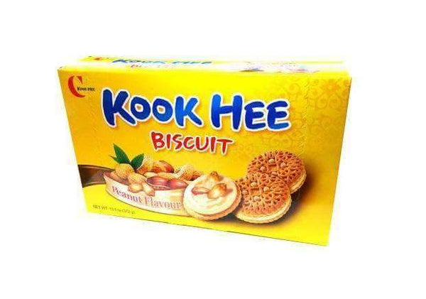 Crown Confectionary Kook Hee Peanut Sand Biscuit - 12 Pack