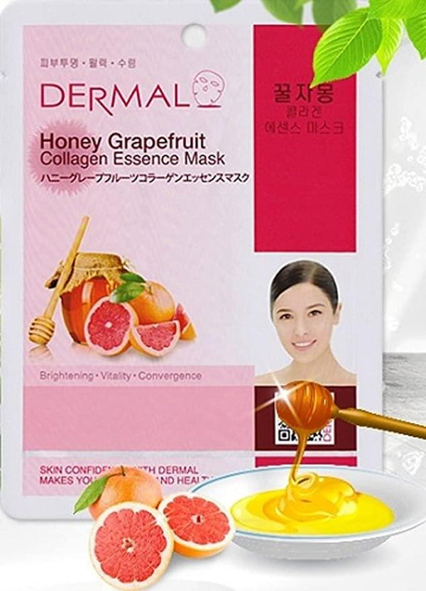 Dermal Honey Grapefruit Collagen Essence Mask
