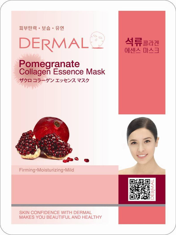 Dermal Pomegranate Collagen Essence Mask