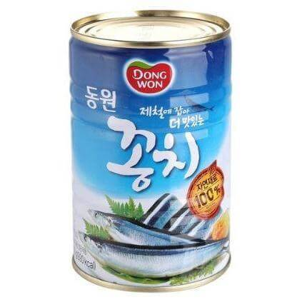 Dong Wong Canned Pacific Saury
