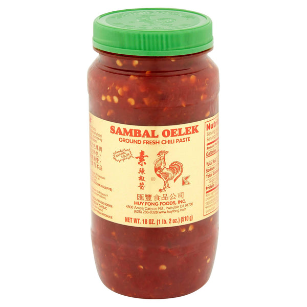 Huy Fong Foods Inc Ground Fresh Chili Paste