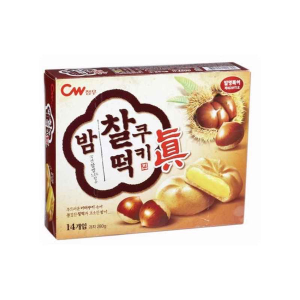 Cheong Woo Rice Cookie - Chestnut Flavor