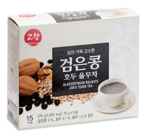 Korean One Ginseng Products Black Soybean Walnuts Job's Tears Tea