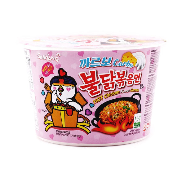 Samyang Carbo Hot Chicken Flavor Ramen Bowl