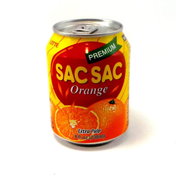 Lotte Sac Sac Orange with Extra Pulp - 8.05 oz