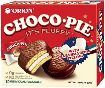 Orion Chocopie with Marshmallow Filling