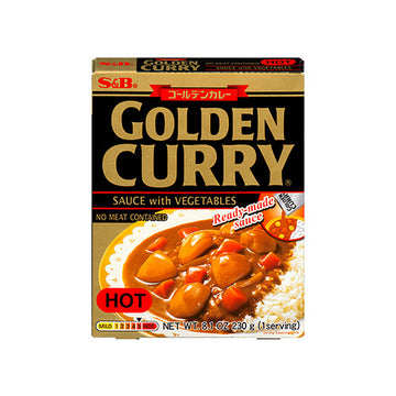 S&B Golden Curry Sauce w/ Vegetable Hot