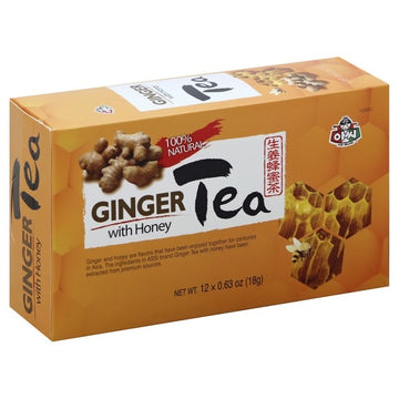 Assi Ginger Tea with Honey - 12 pack