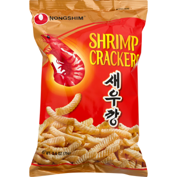 Nongshim Shrimp Flavored Crackers