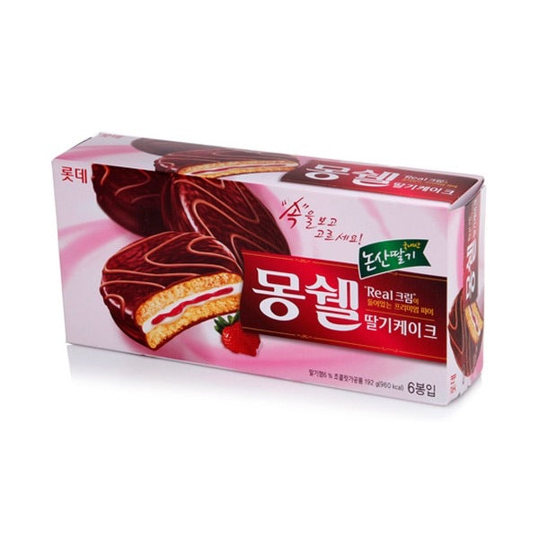 Lotte Strawberry Dream Cake - 6 Pack