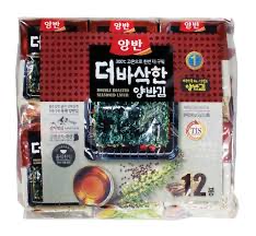 Dong Won Double Roasted Seaweed Laver -12 pack