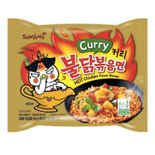 Samyang Buldak Curry Hot Chicken Flavor Ramen