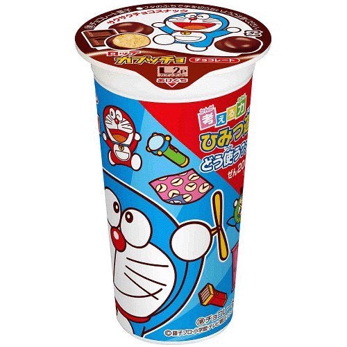 Lotte Kapucho Doraemon Choco Cookie