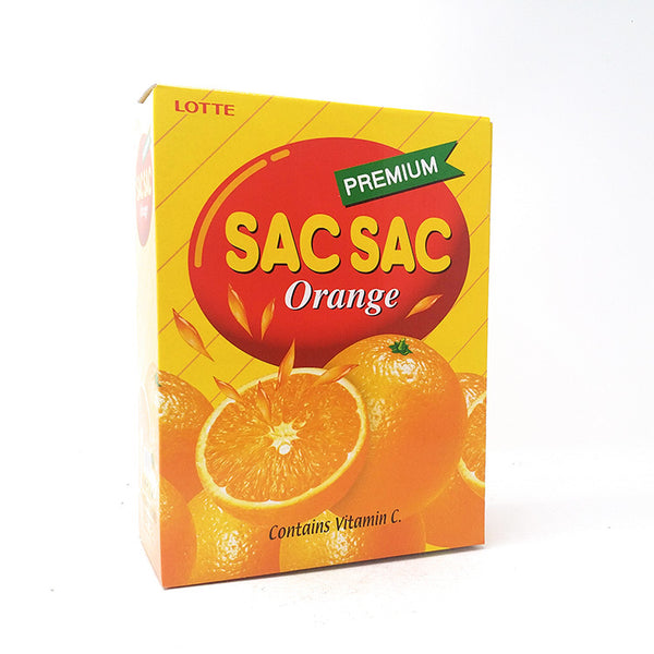 Lotte Sac Sac Orange with Extra Pulp - 12 pack