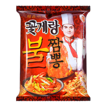 Binggrae Crab Shape Snack Hot
