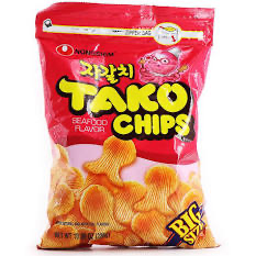 NONGSHIM Octopus Flavored Tako Chips Family Pack 286g
