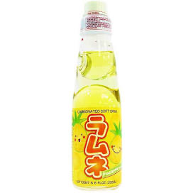 Yappari Ramune Pineapple - 6.6oz