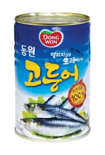 Dong Won Canned Mackerel - 14.1oz
