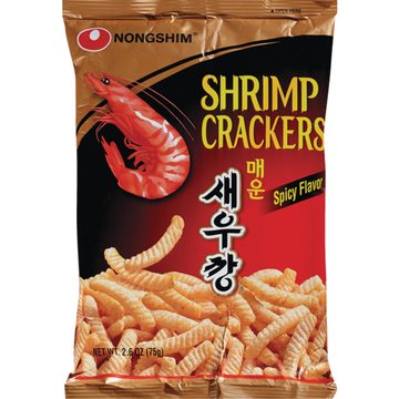 Nongshim Spicy Shrimp Flavored Cracker