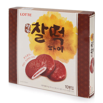 Lotte Chocolate Korean Pie - 10 Pack