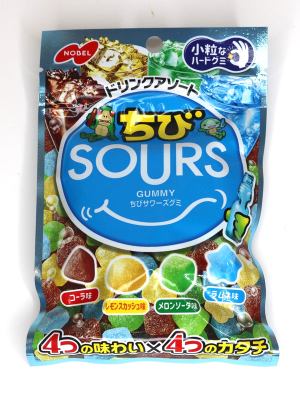 Nobel Chibi Sours Drink Assorted Gummies