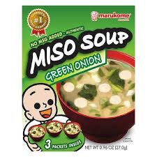 Marukome Miso Green Onion Instant Soup