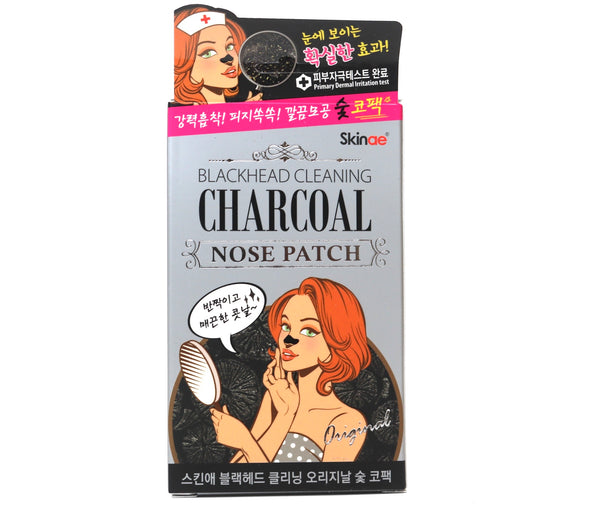 Skinae Blackhead Cleansing Charcoal Nose Patch