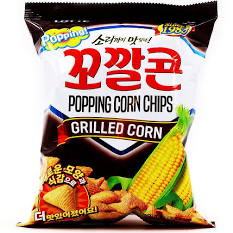 Lotte Roasted Corn Snack