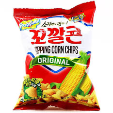 Lotte Corn Snack